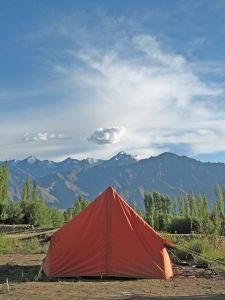 namiot w Chorwacji