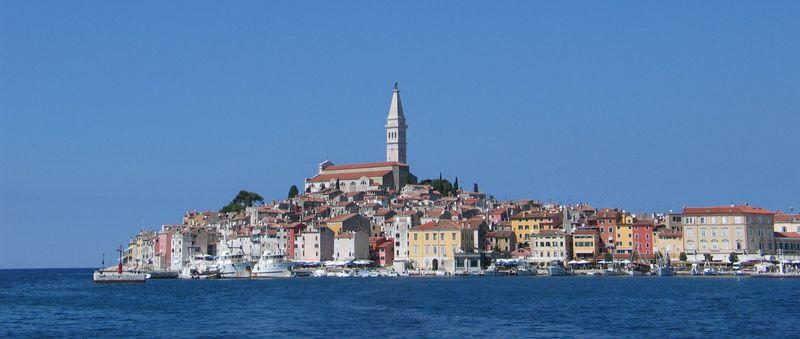 Chorwacja Rovinj - Starówka kościół świętej Eufemii