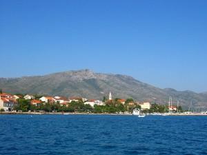 Orebić  w Chorwacji