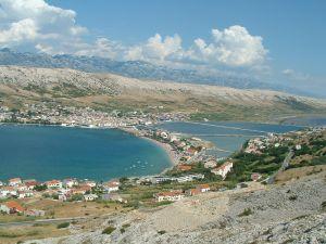 Chorwacj - wyspa Pag
